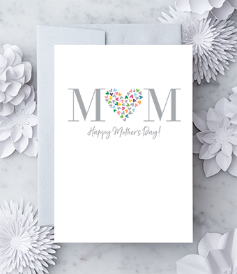 MOM Happy Mother's Day Greeting Card