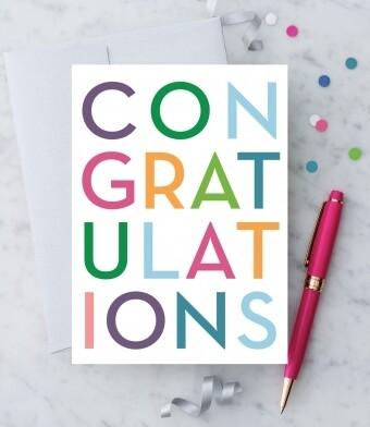 CONGRATULATIONS Greeting Card