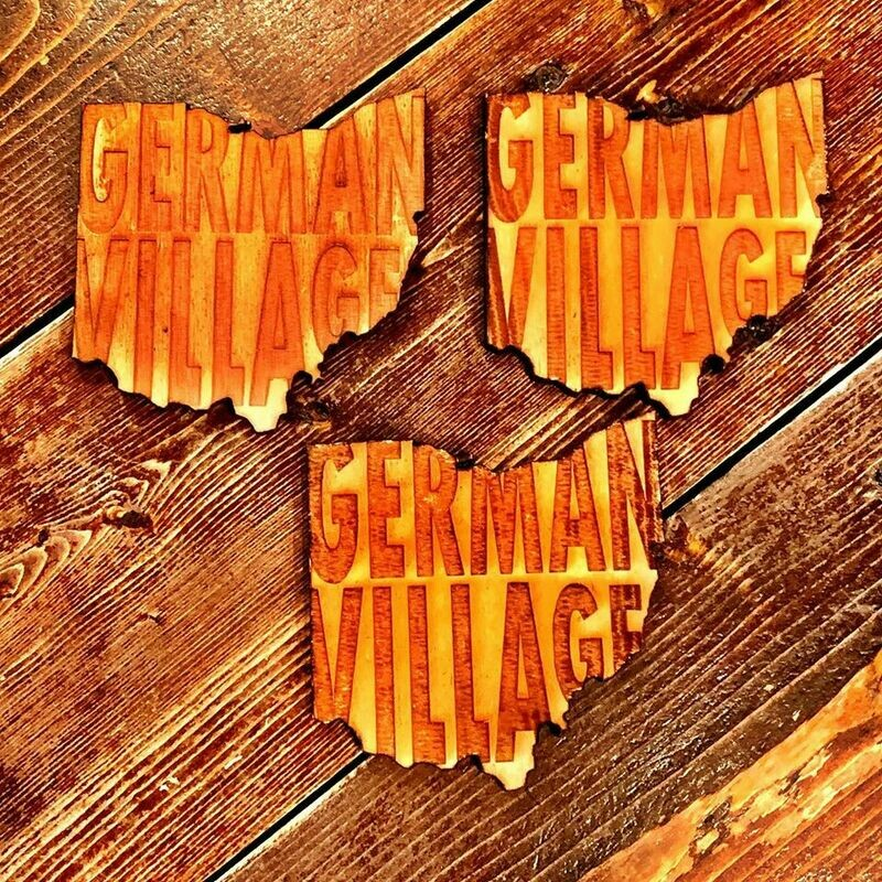 German Village Coaster