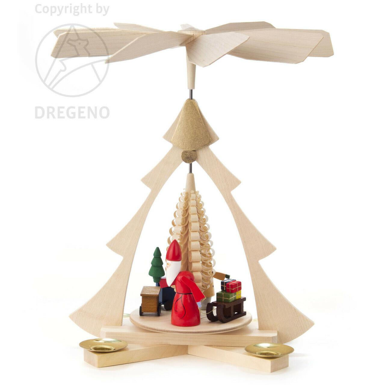 Santa Tree Frame Pyramid