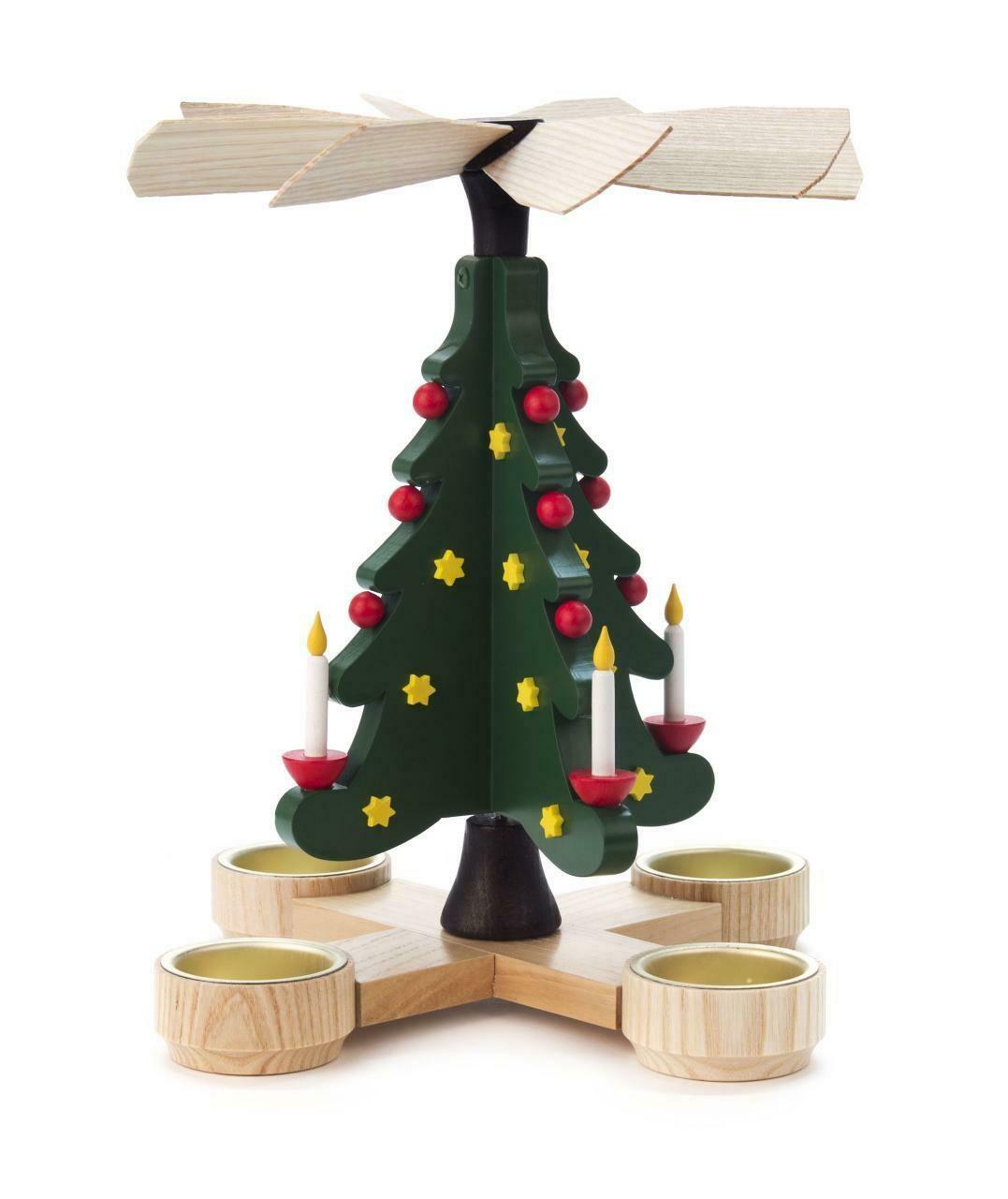 Holiday Christmas Tree Christmas Pyramid