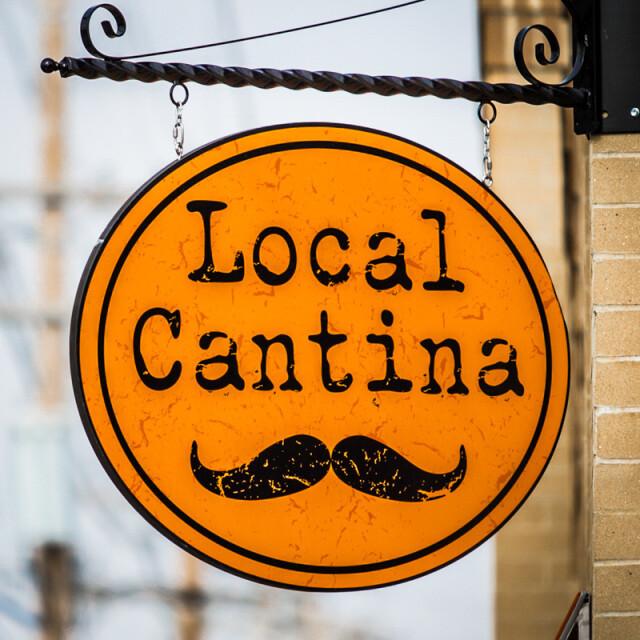 Local Cantina Coaster