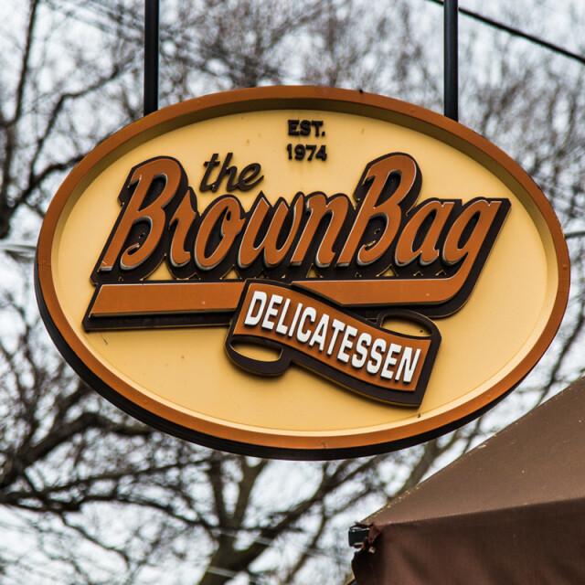 Brown Bag Deli Coaster