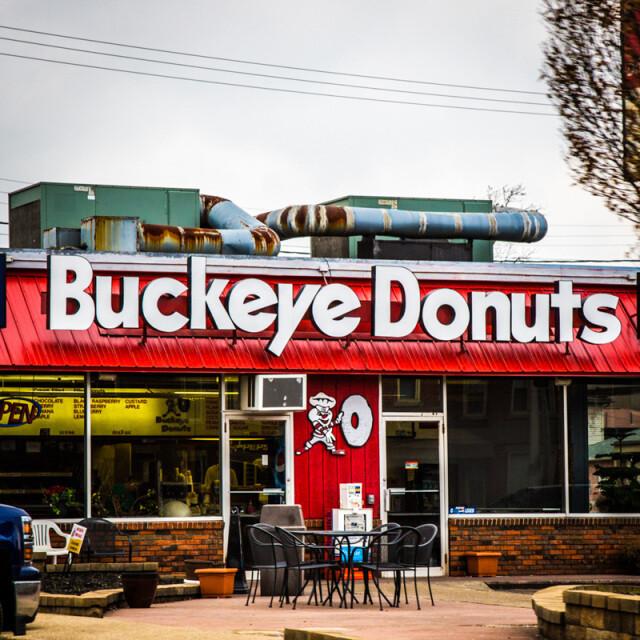 Buckeye Donuts South High Coaster