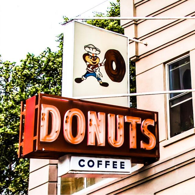 Buckeye Donuts Campus Coaster