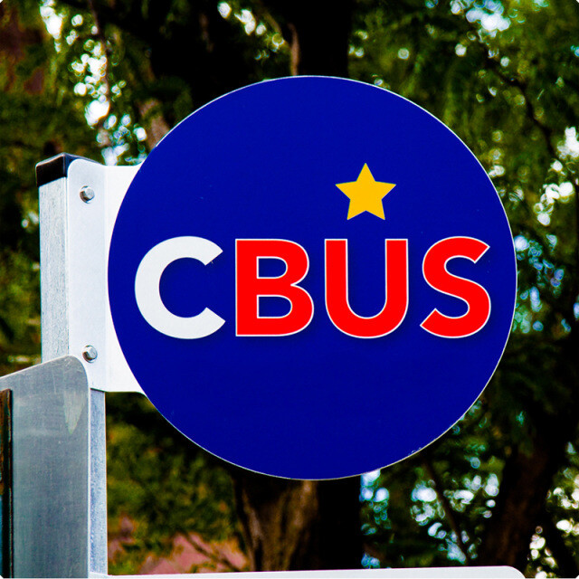 CBUS Sign Coaster