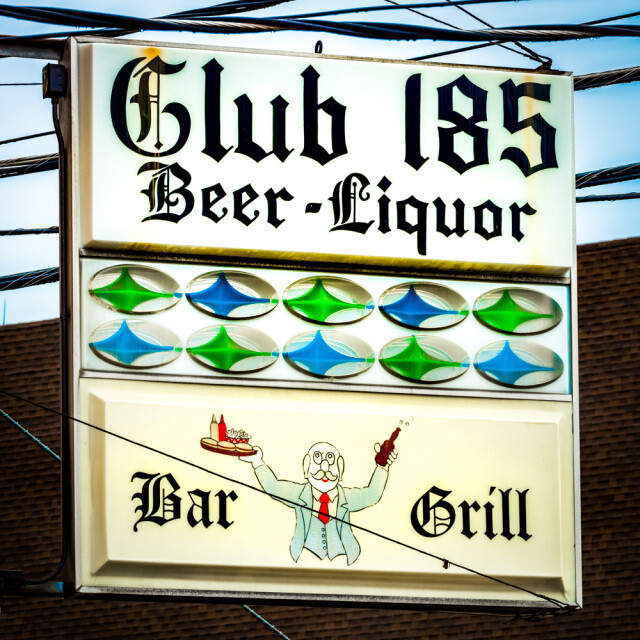 Club 185 Coaster