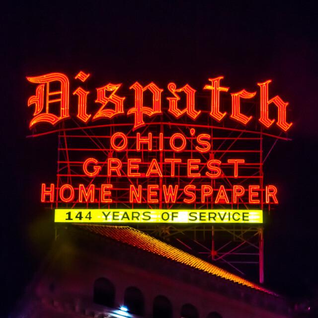 Columbus Dispatch Coaster