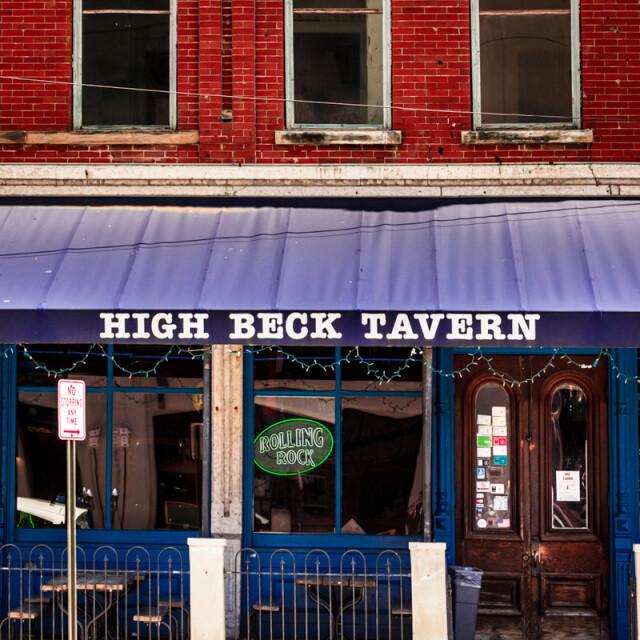 High Beck Tavern Coaster