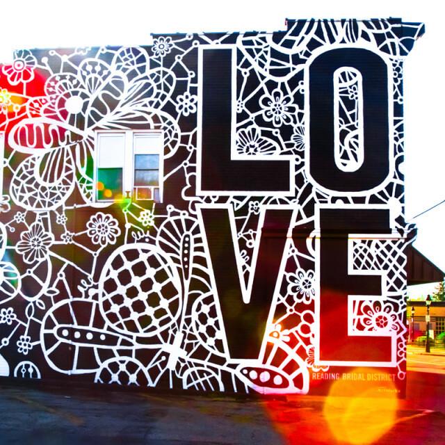 Love Blooms Mural