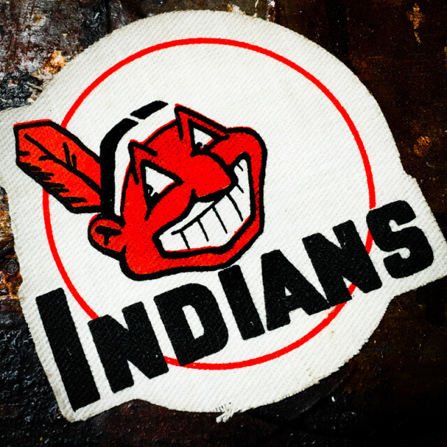 Indians Patch Coaster