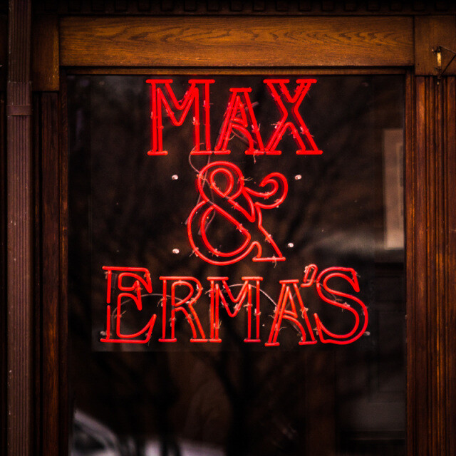 Max and Erma's Coaster