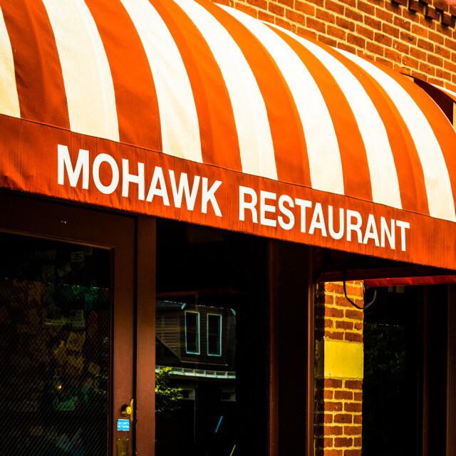 Mohawk Restaurant Coaster