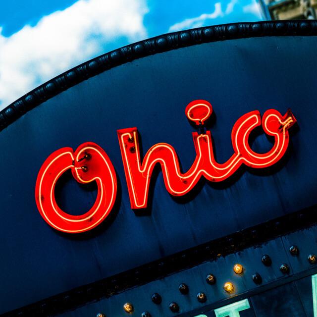 Neon Ohio Coaster