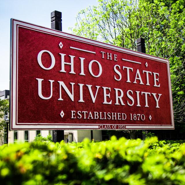 OSU Sign Coaster