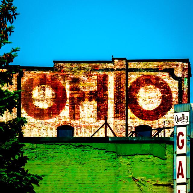 Ohio Brick Coaster