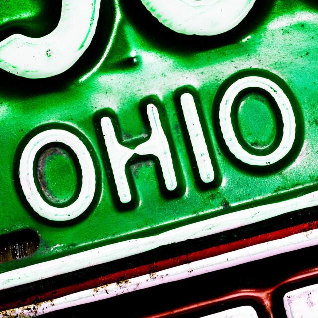 Ohio Plate 1964 Coaster