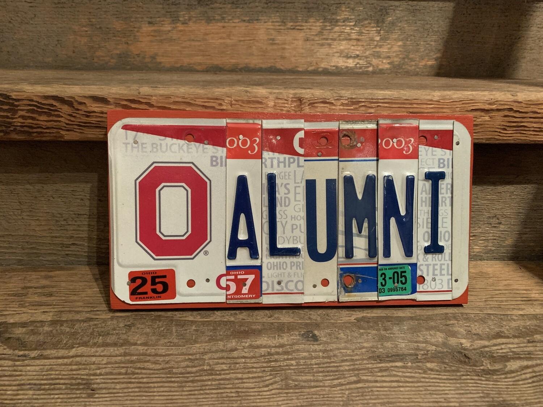 OSU Alumni License Plate