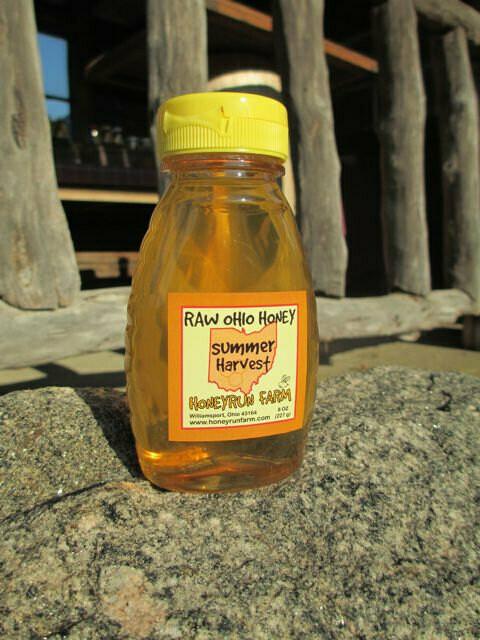 Raw Summer Harvest Honey