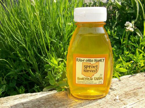 Raw Spring Harvest Honey