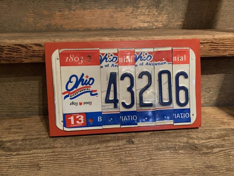 BICENTENNIAL 43206 License Plate Art