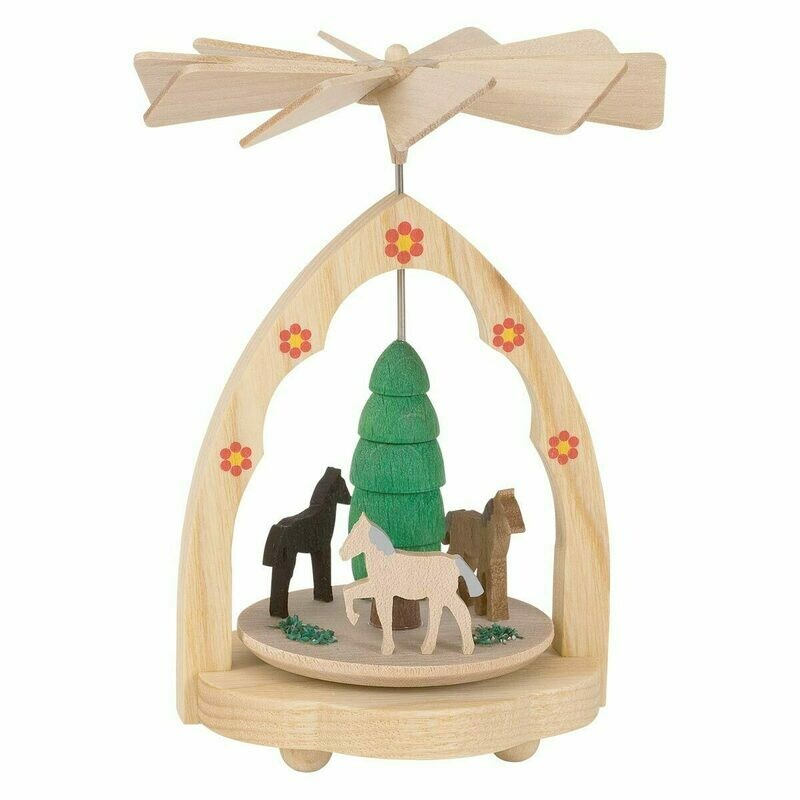Mini Horse Pyramid