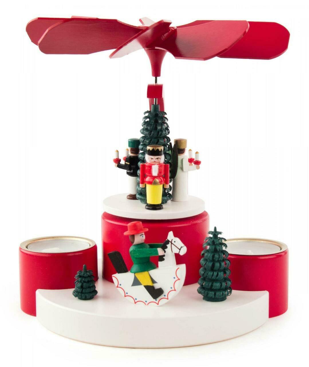 Christmas Holiday Fun Red Christmas Pyramid
