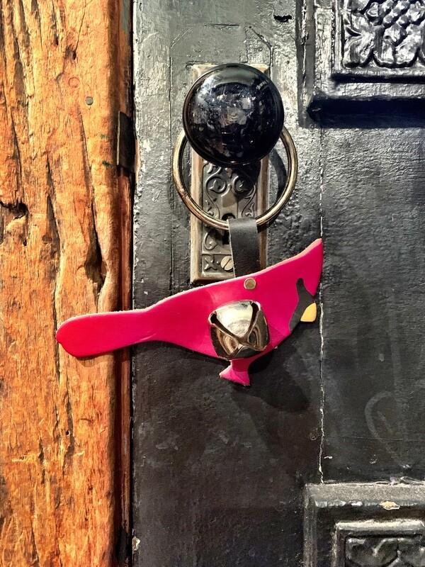 Door Hanger - Cardinal Red