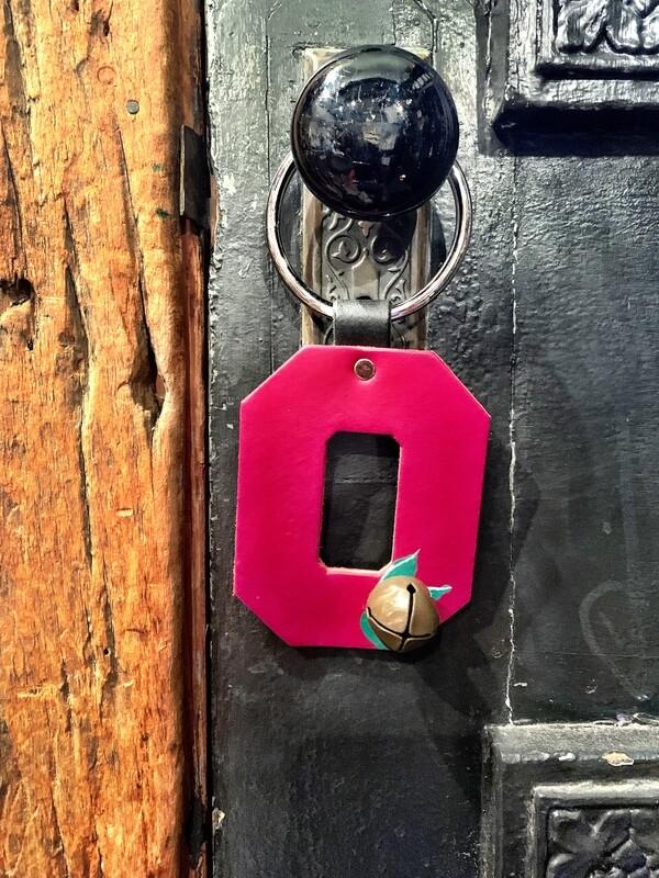Door Hanger - Block O w/Buckeye Bell