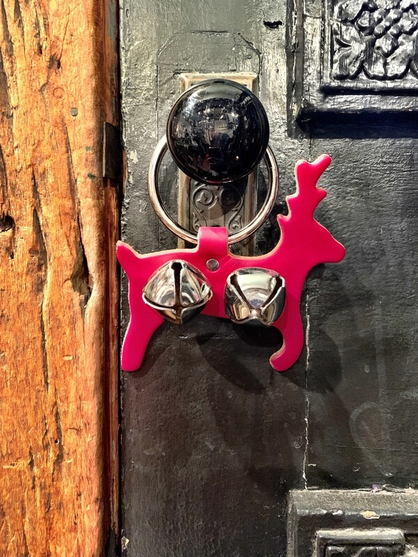 Door Hanger - Reindeer Red