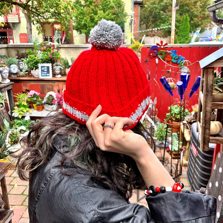 Scarlet & Gray Adult Hat