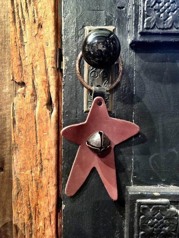 Door Hanger - Star Brown Rusty