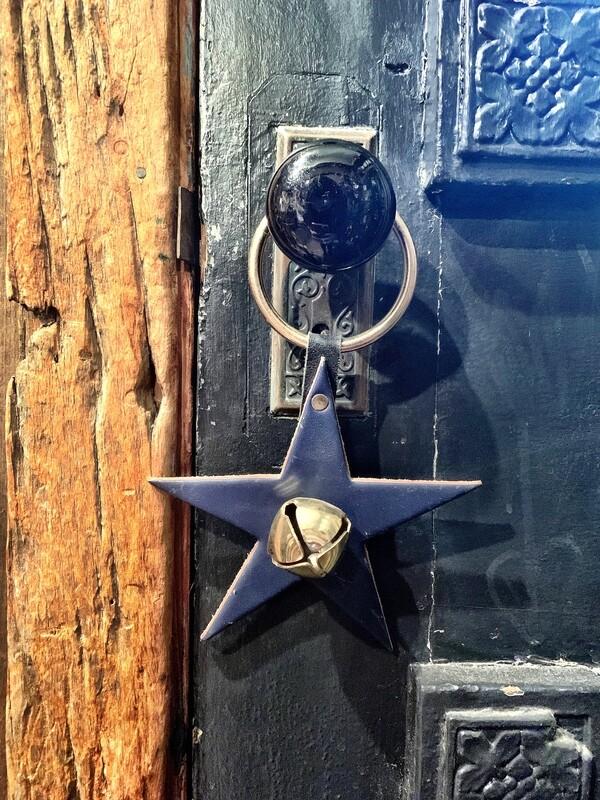 Door Hanger - Star Navy