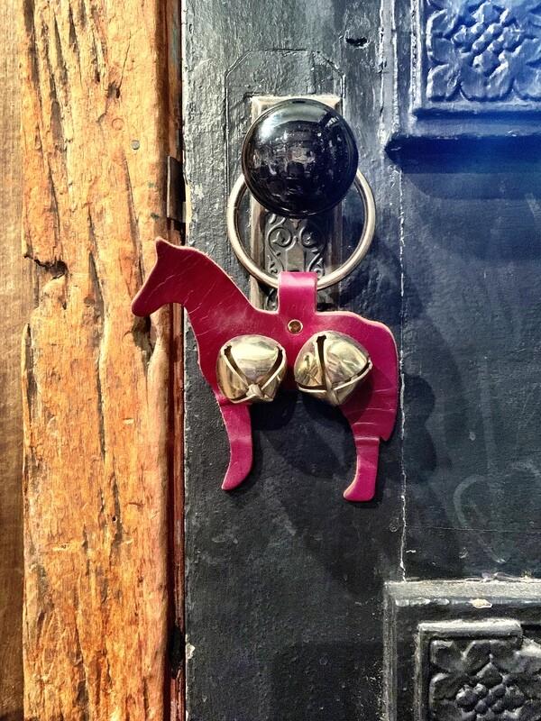 Door Hanger - Horse Brown