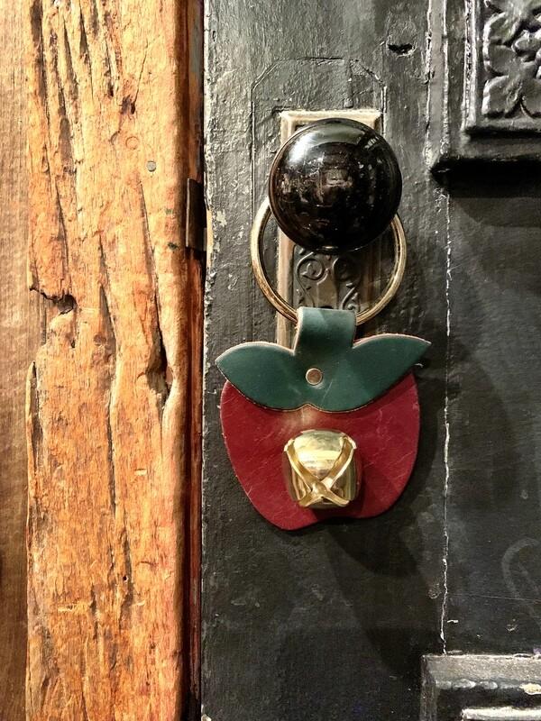 Door Hanger - Apple Maroon