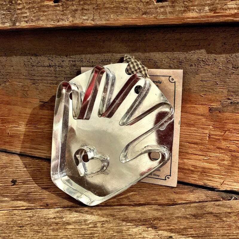 Hand w/ Heart Cookie Cutter