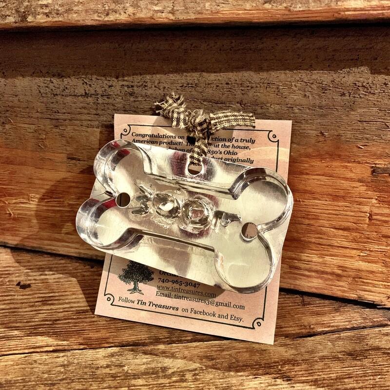 Dog Bone Woof Cookie Cutter