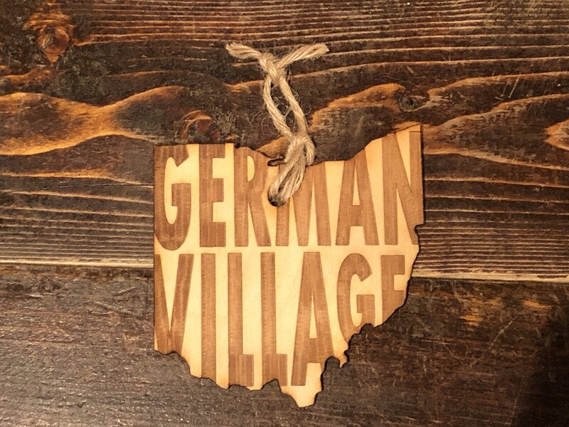 German Village Ohio Ornament
