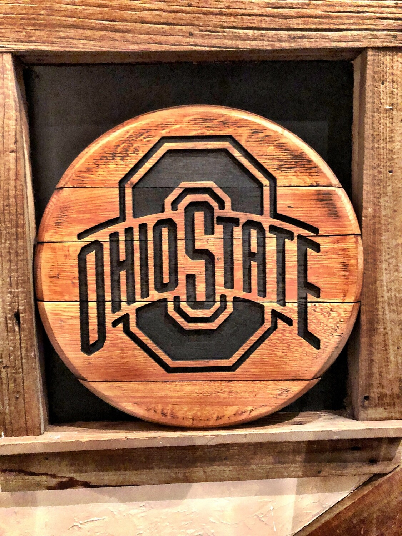 OSU Whiskey Barrel Tops