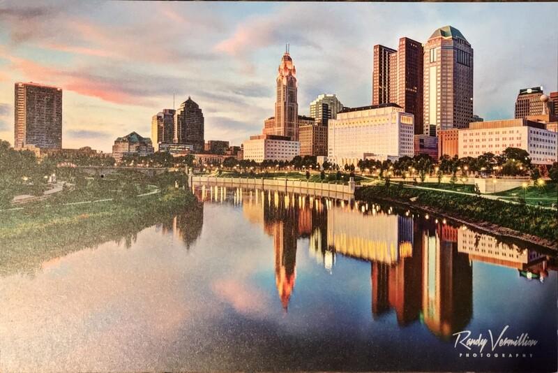 6x9 Oversized Columbus Postcard