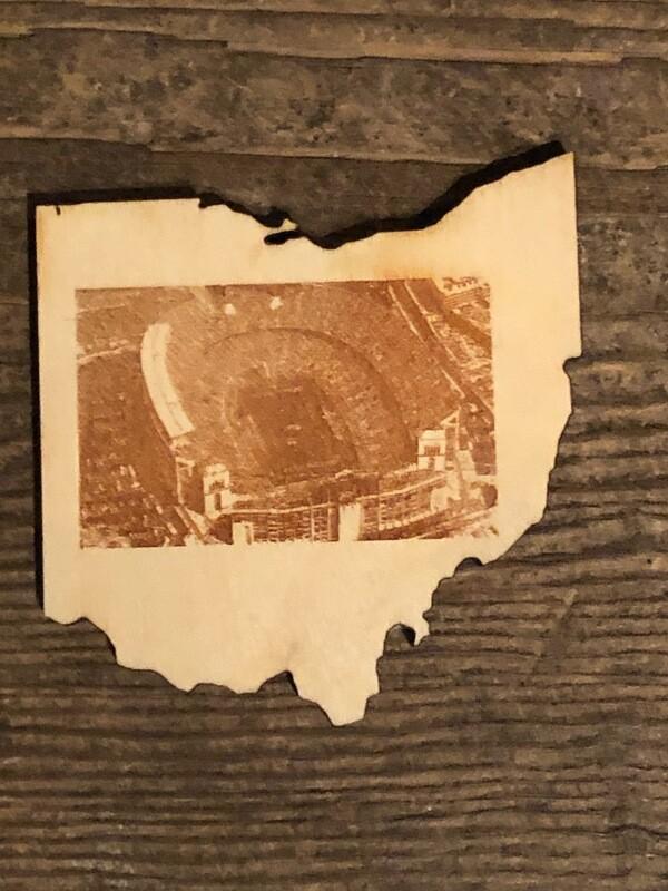 Ohio State Stadium Coaster