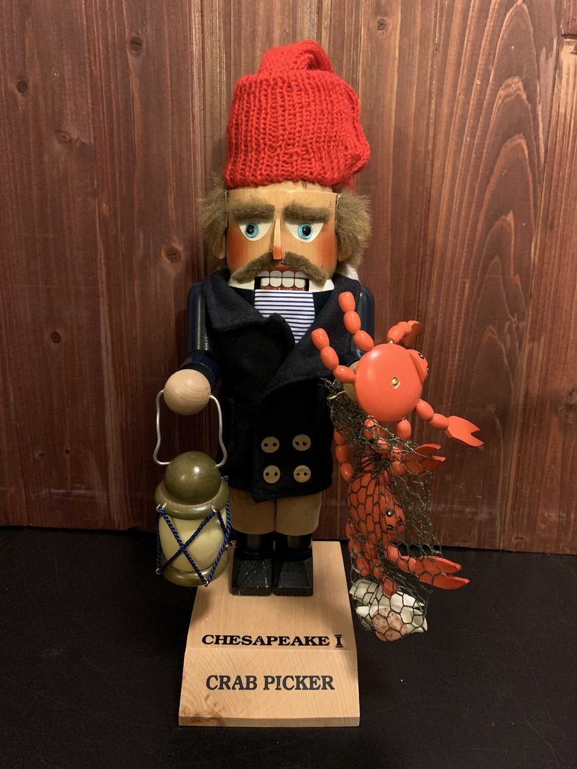 Chesapeake Crab Picker Nutcracker