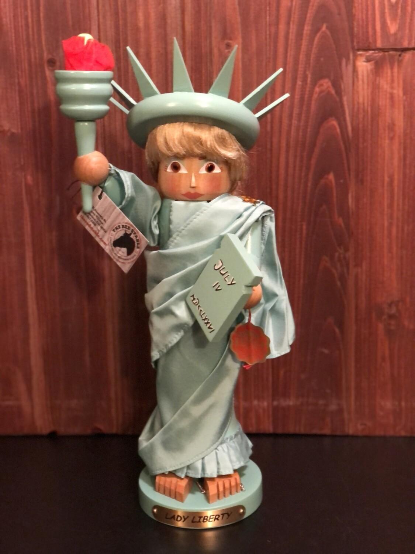 Lady Liberty Nutcracker