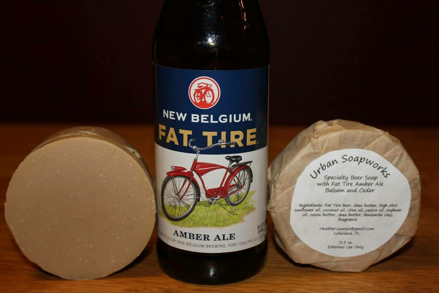 Fat Tire Beer Soap