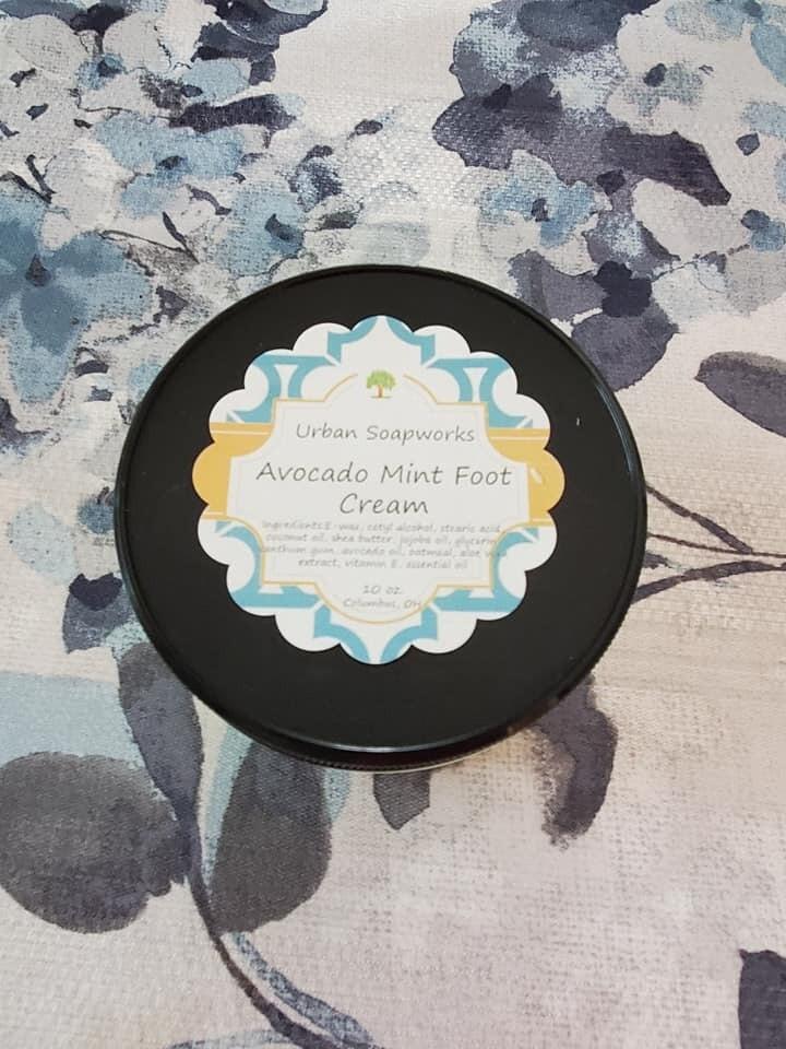 Avocado Mint Foot Cream