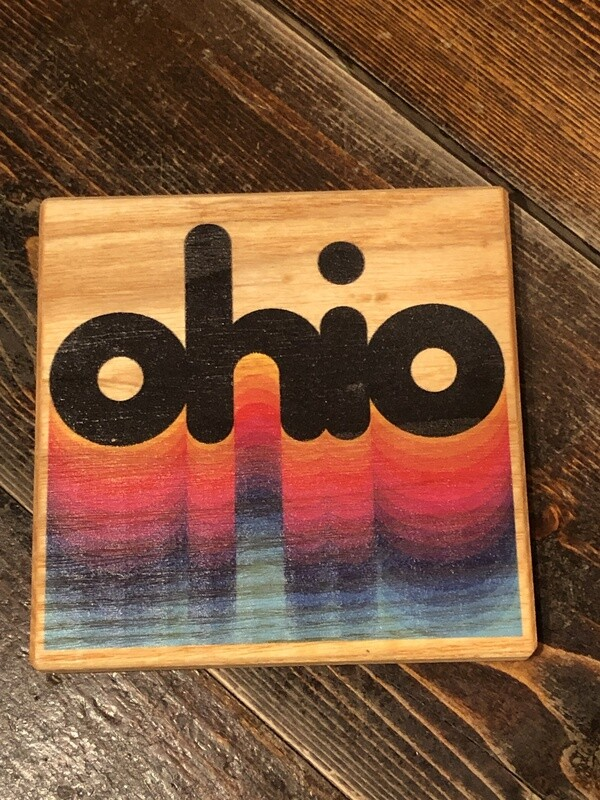Ohio Rainbow Coaster