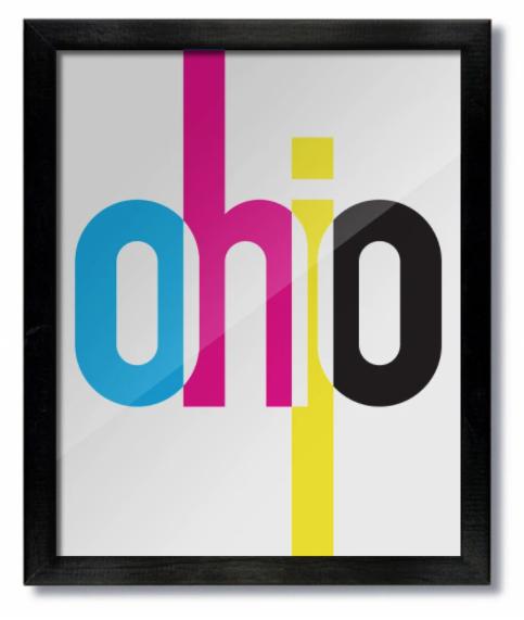 Ohio CMYK Print
