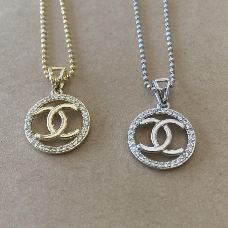 Chanel Closed Interlocking Necklace