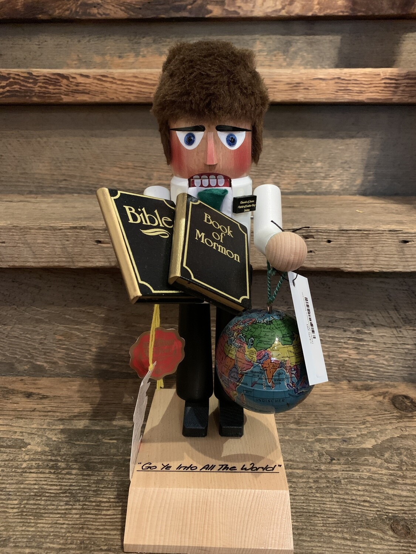 Happy Missionary Nutcracker