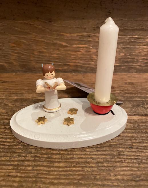 Singing Angel Candle Holder